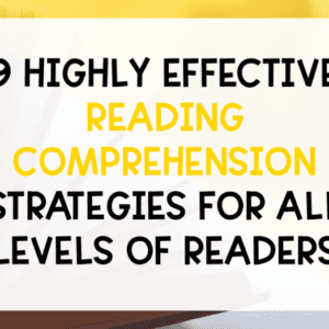 9 reading comprehension strategies feature picture
