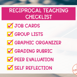 Reciprocal Teaching Checklist