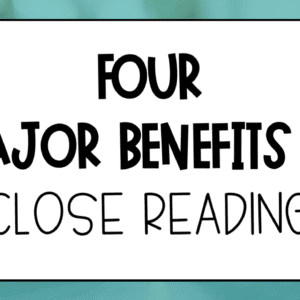 Benefits of Close Reading