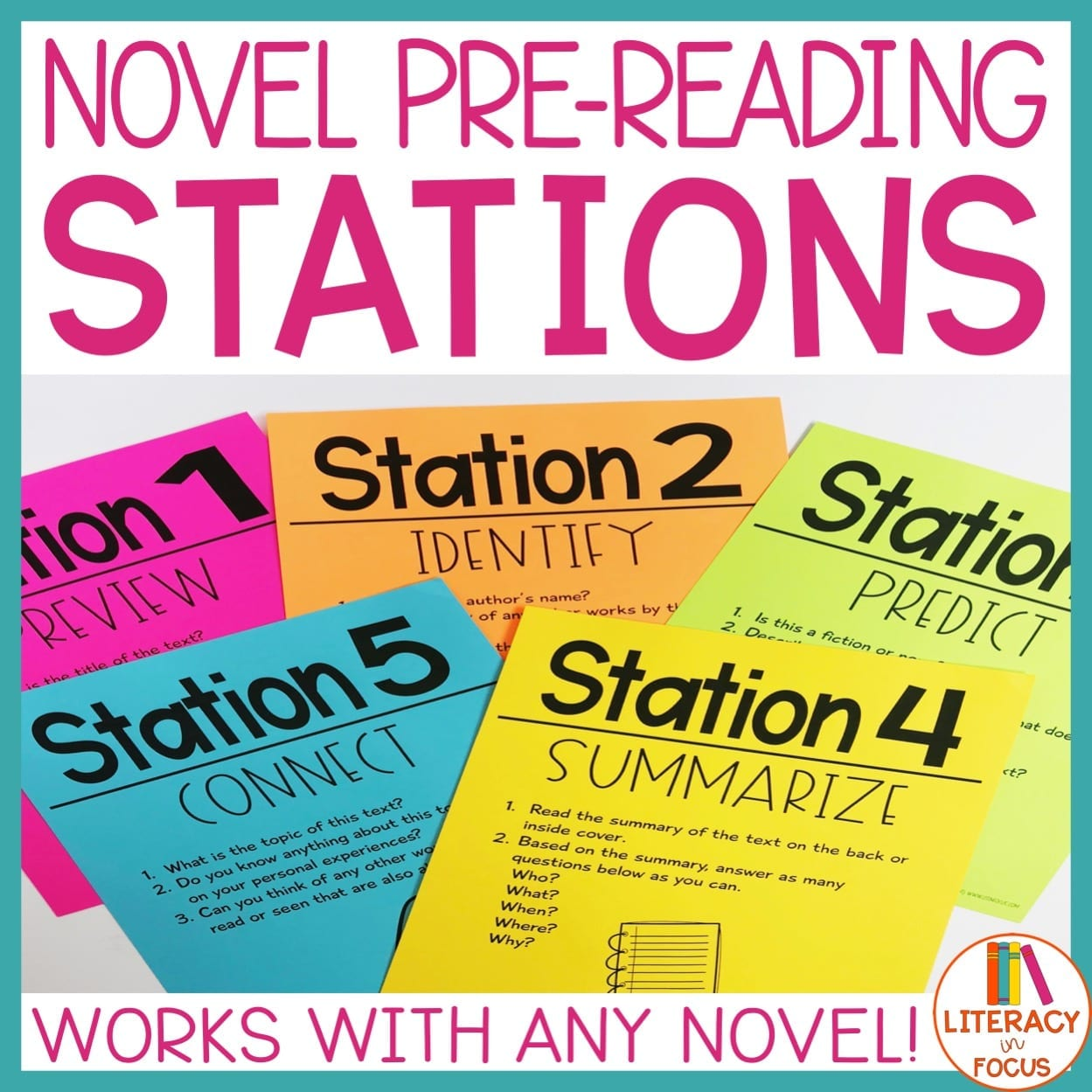 Pre-Reading Stations