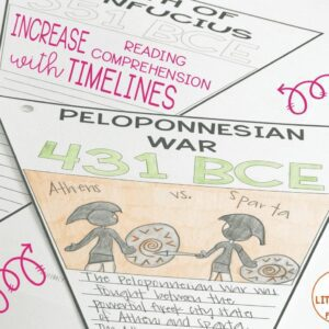 Timelines and Reading Comprehension