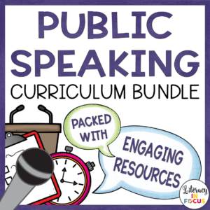 Public Speaking Curriculum