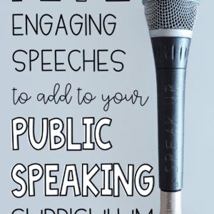 Public Speaking Curriculum