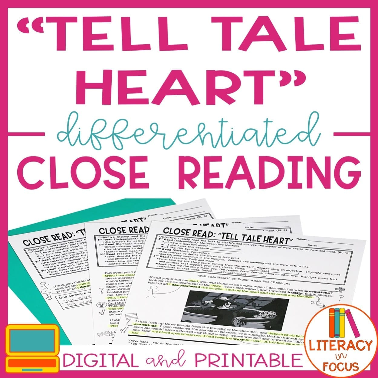 Tell Tale Heart Close Reading
