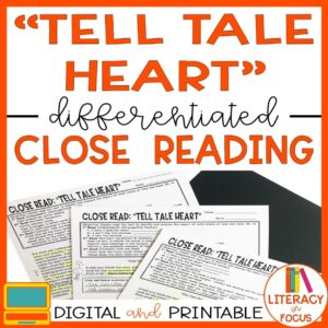 Tell Tale Heart Lesson