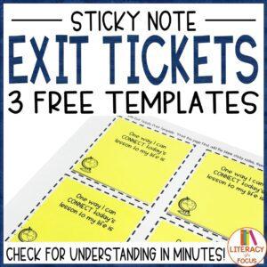 sticky note freebie