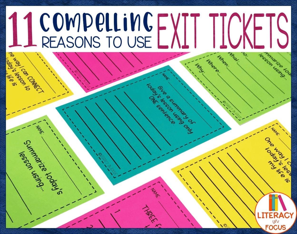 exit ticket blog title