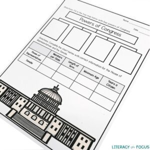 Constitution Graphic Organizer