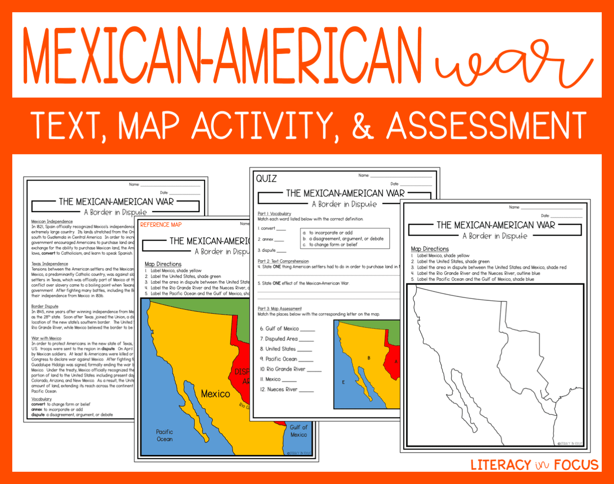 Mexican American War Lesson Plan