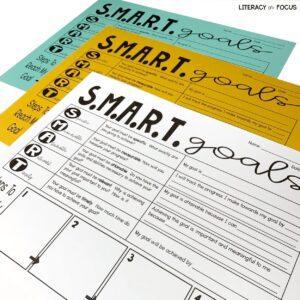 SMART Goals Worksheets