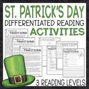 St. Patricks Day Lesson Plan