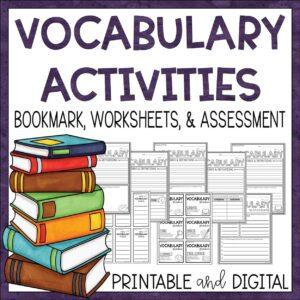 Vocabulary Activities