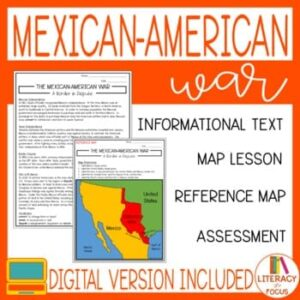 Mexican American war lesson