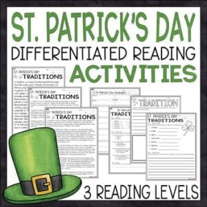 st Patricks day reading activities
