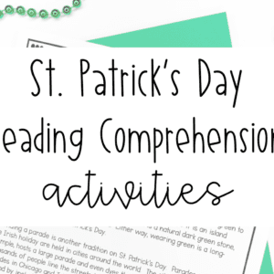 St. Patricks Day Reading Lesson