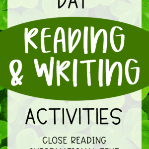St. Patricks Day Reading and Writing Activities