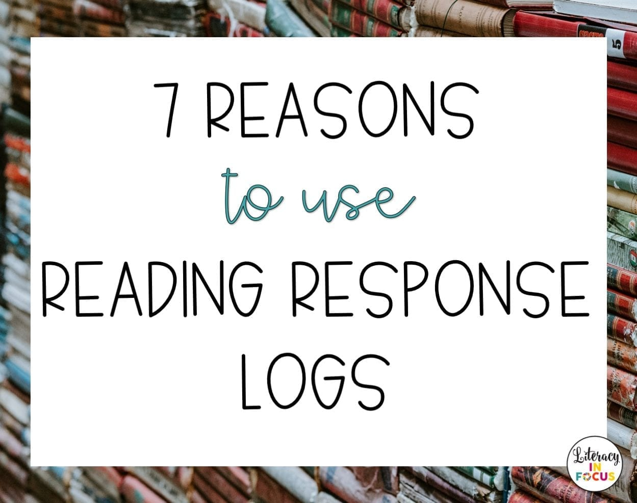 Uses for Reading Response Logs