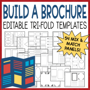 Build Your Own Trifold Brochure