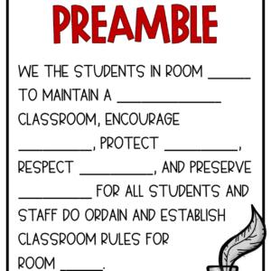 Class Preamble