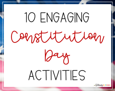 Constitution Day Ideas
