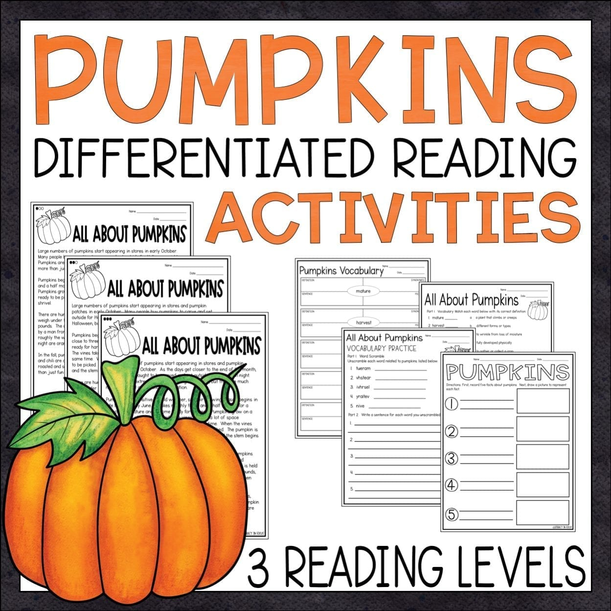 Pumpkins Close Reading