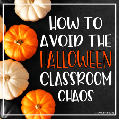 Halloween Lesson Ideas