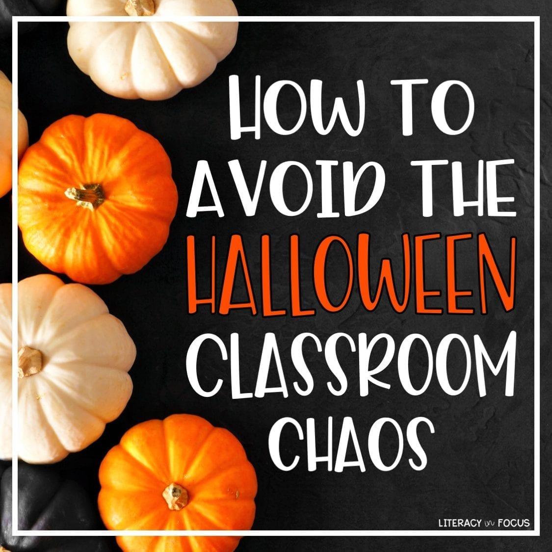 Halloween Lesson Ideas
