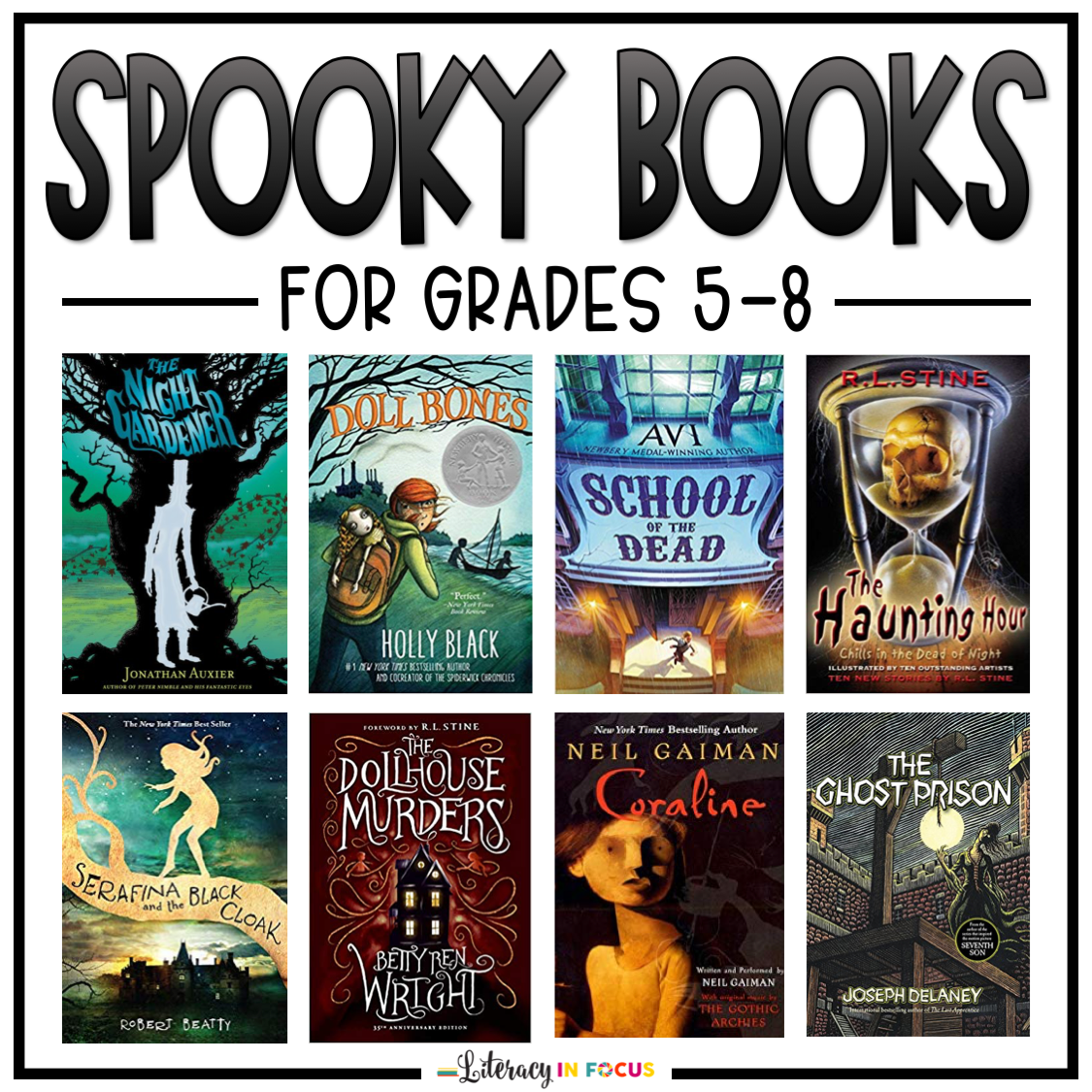 Spooky Books for Tweens