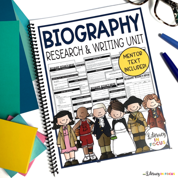 Biography Research and Writing Unit