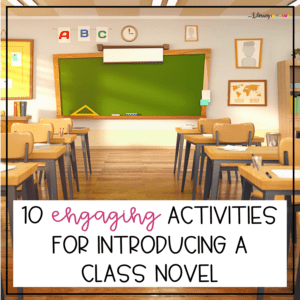 Activities for Introducing a Class Novel