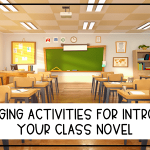 10 Activities for Introducing a Novel