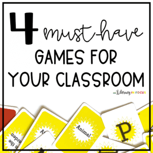 Classroom Vocabulary Games