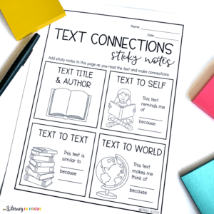 Text Connections Sticky Notes