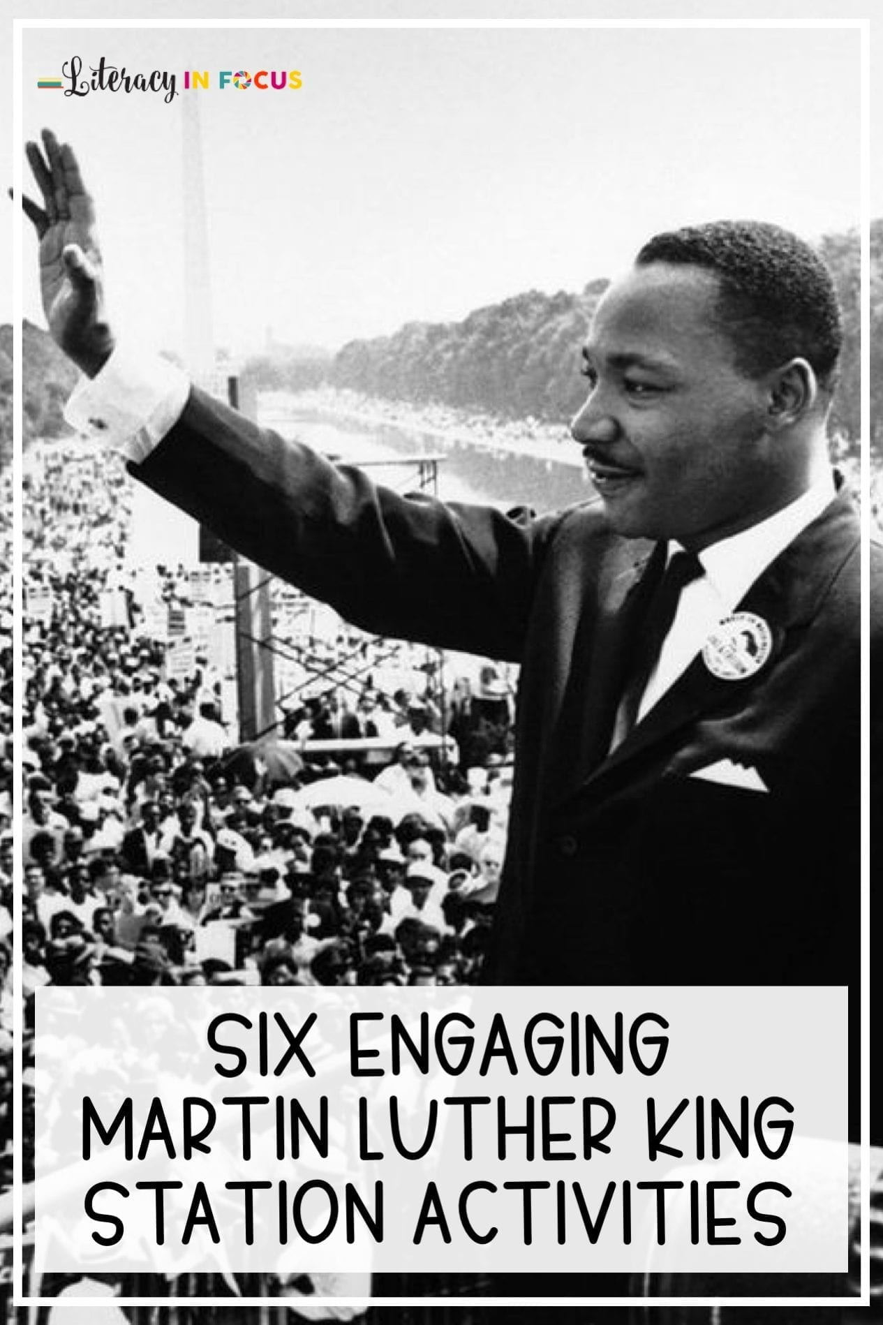 Six Engaging Station Activities for Martin Luther King Day