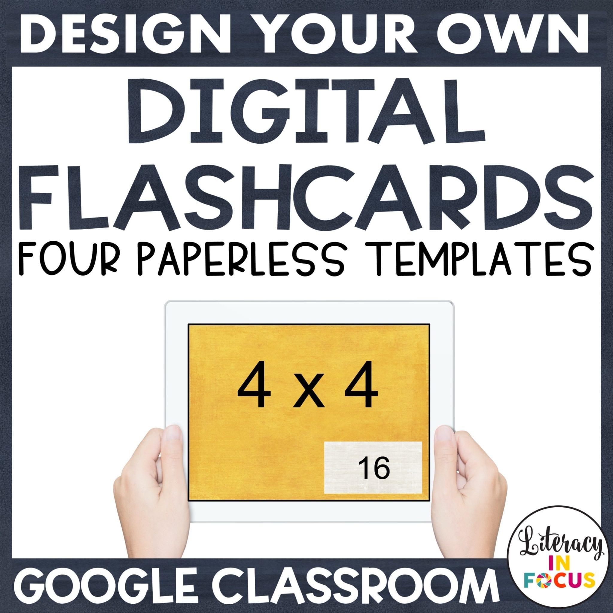 Digital Flashcards Templates