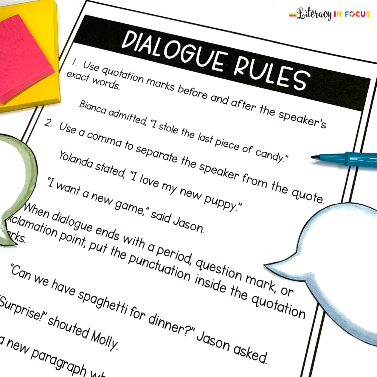 Dialogue Practice Worksheet
