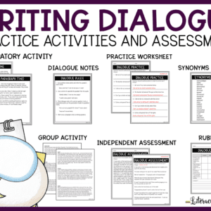 Dialogue Writing Lesson and Activities