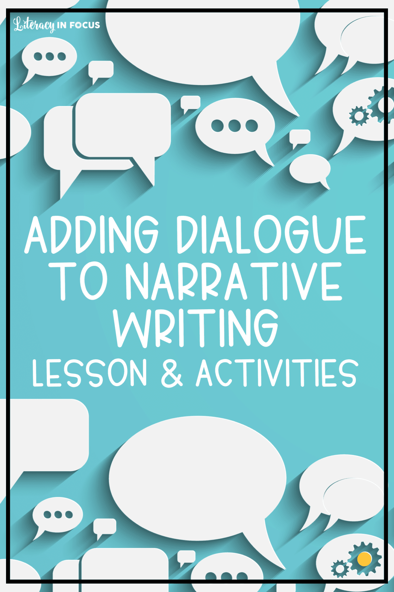 Dialogue Writing Activities and Lesson Plan