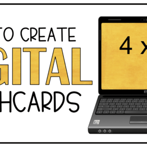 How to Create Digital Flashcards