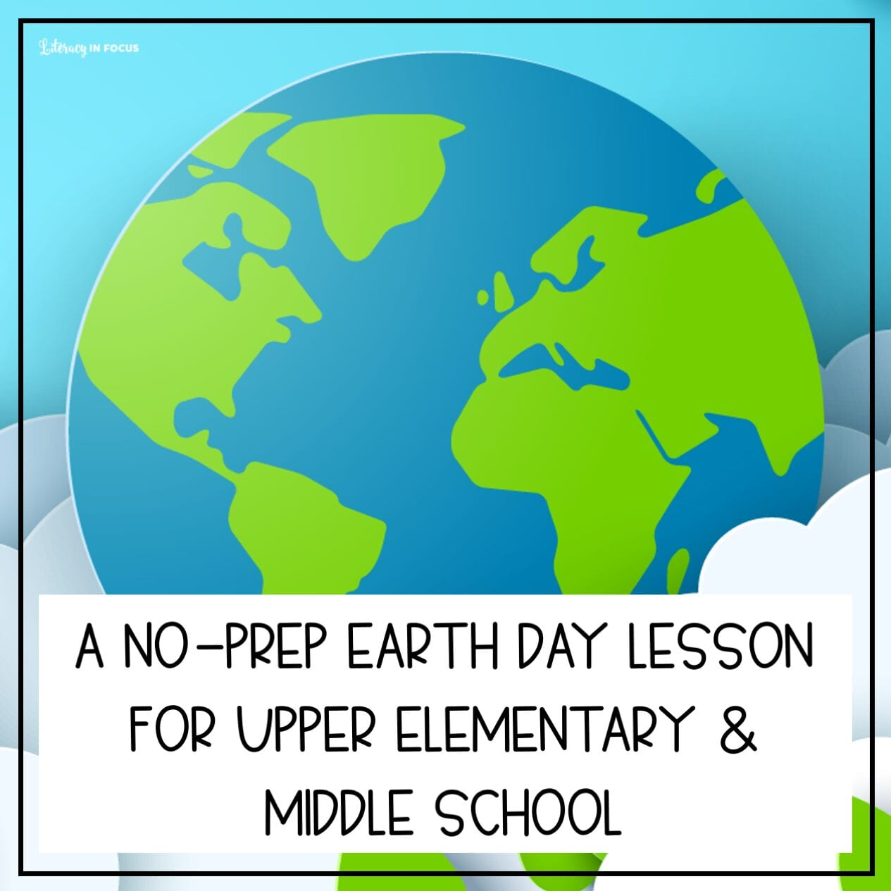 Earth Day Lesson Plan Free