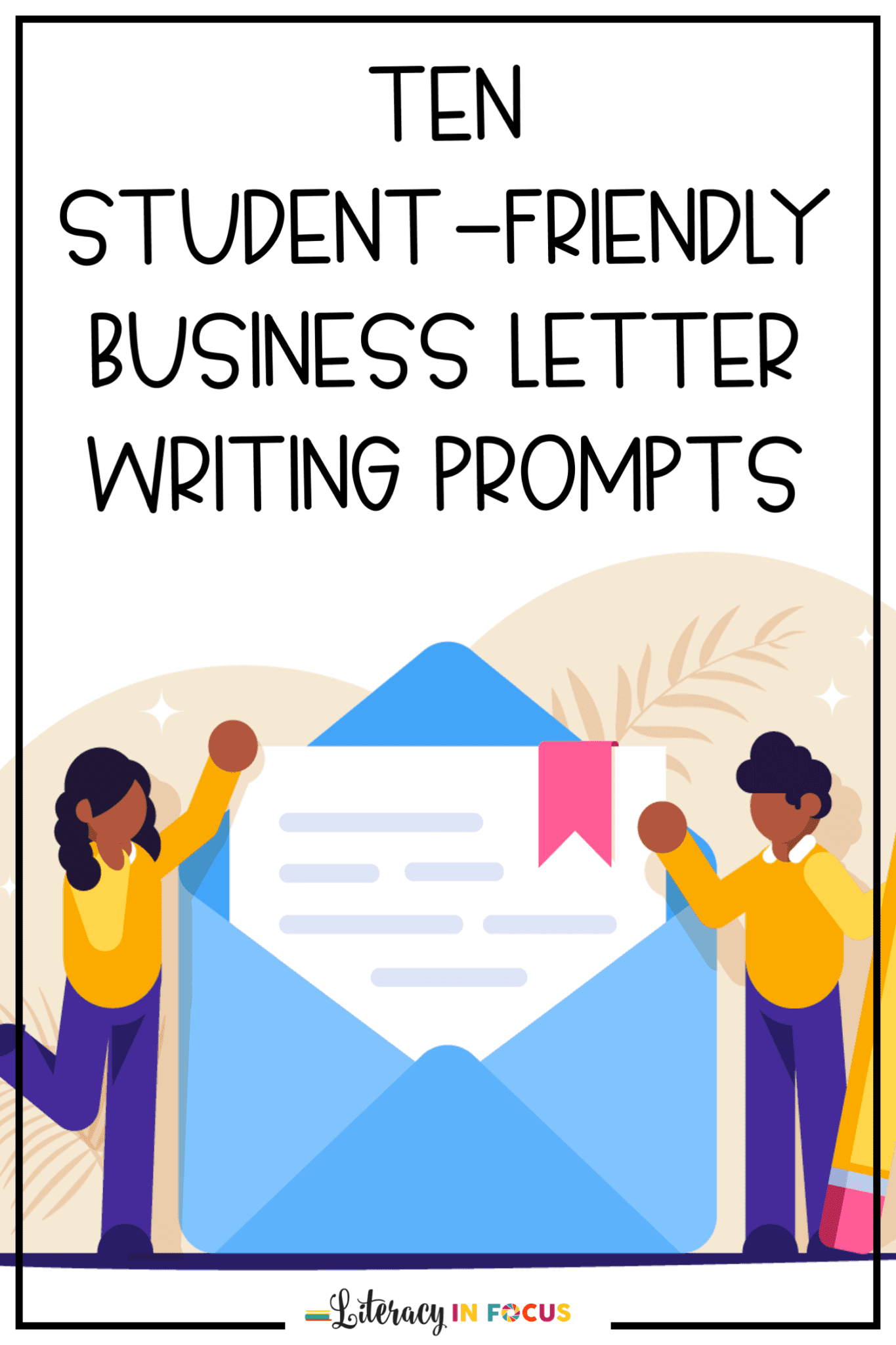 Business Letter Writing Prompts for Kids