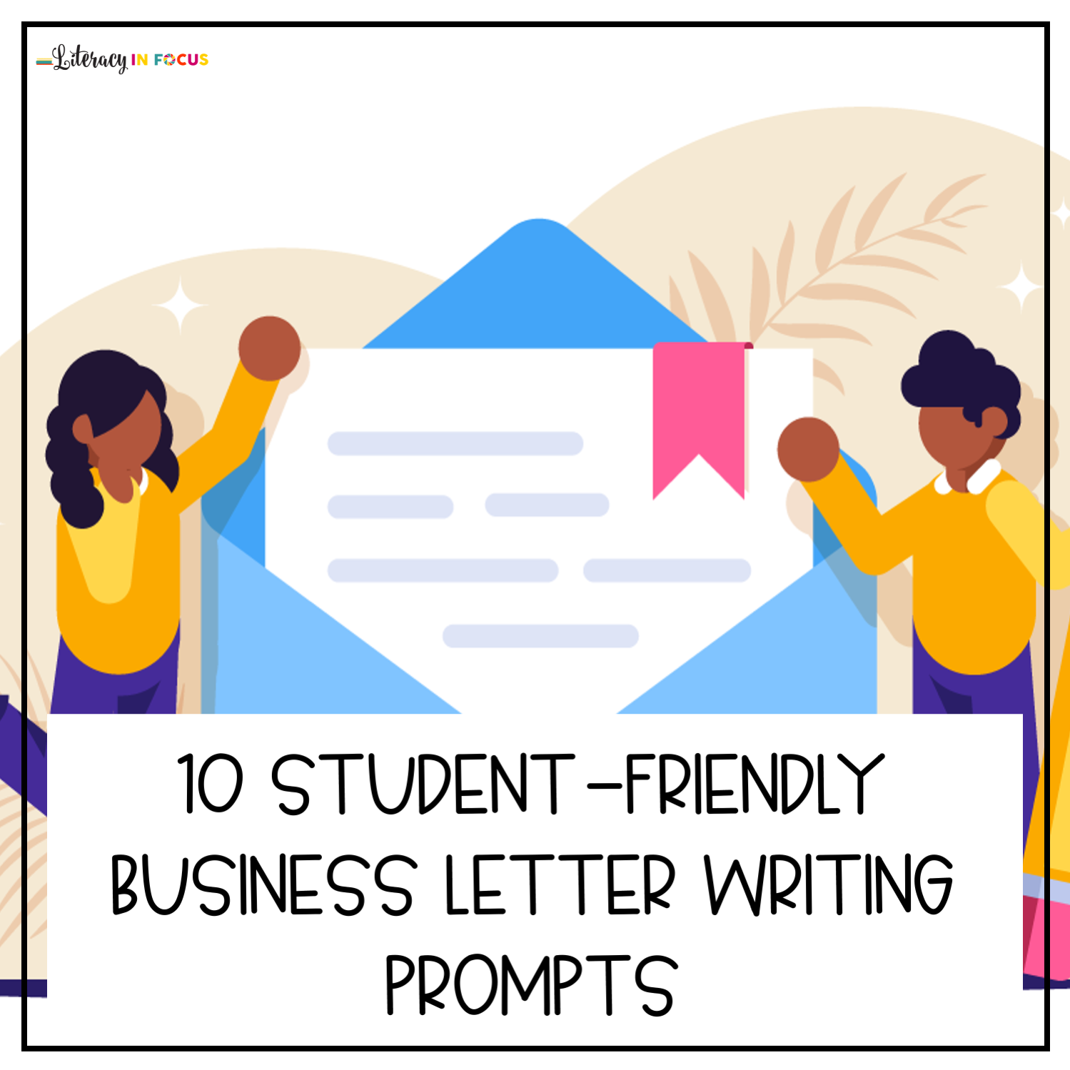 Business Letter Writing Prompts for Students