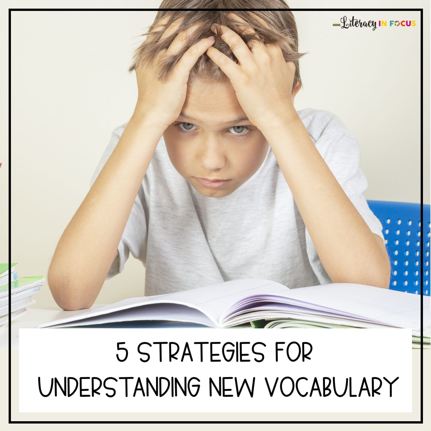 Vocabulary Strategies for Elementary Students
