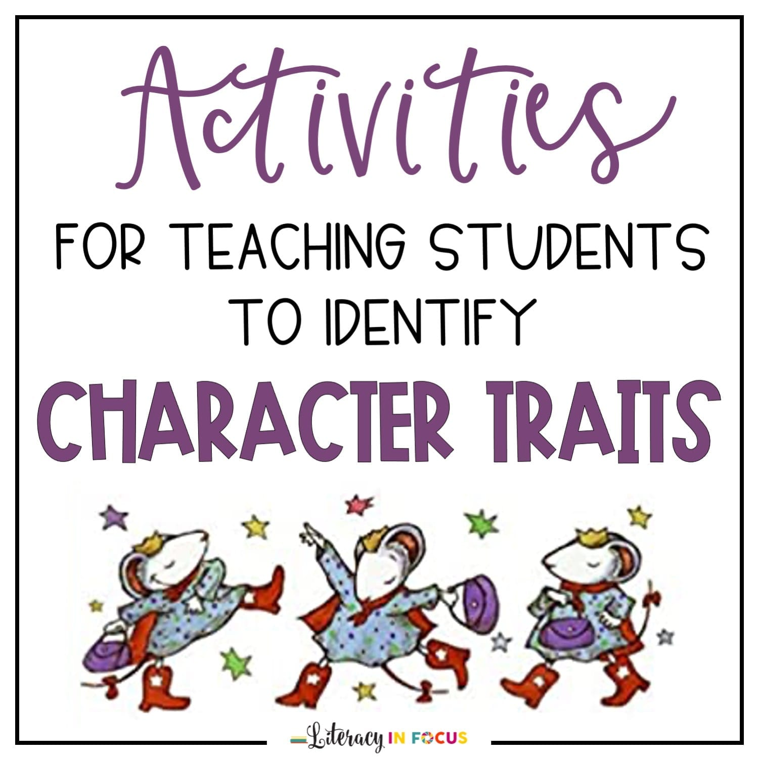 character traits lesson plan