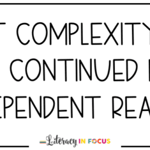 text complexity quote