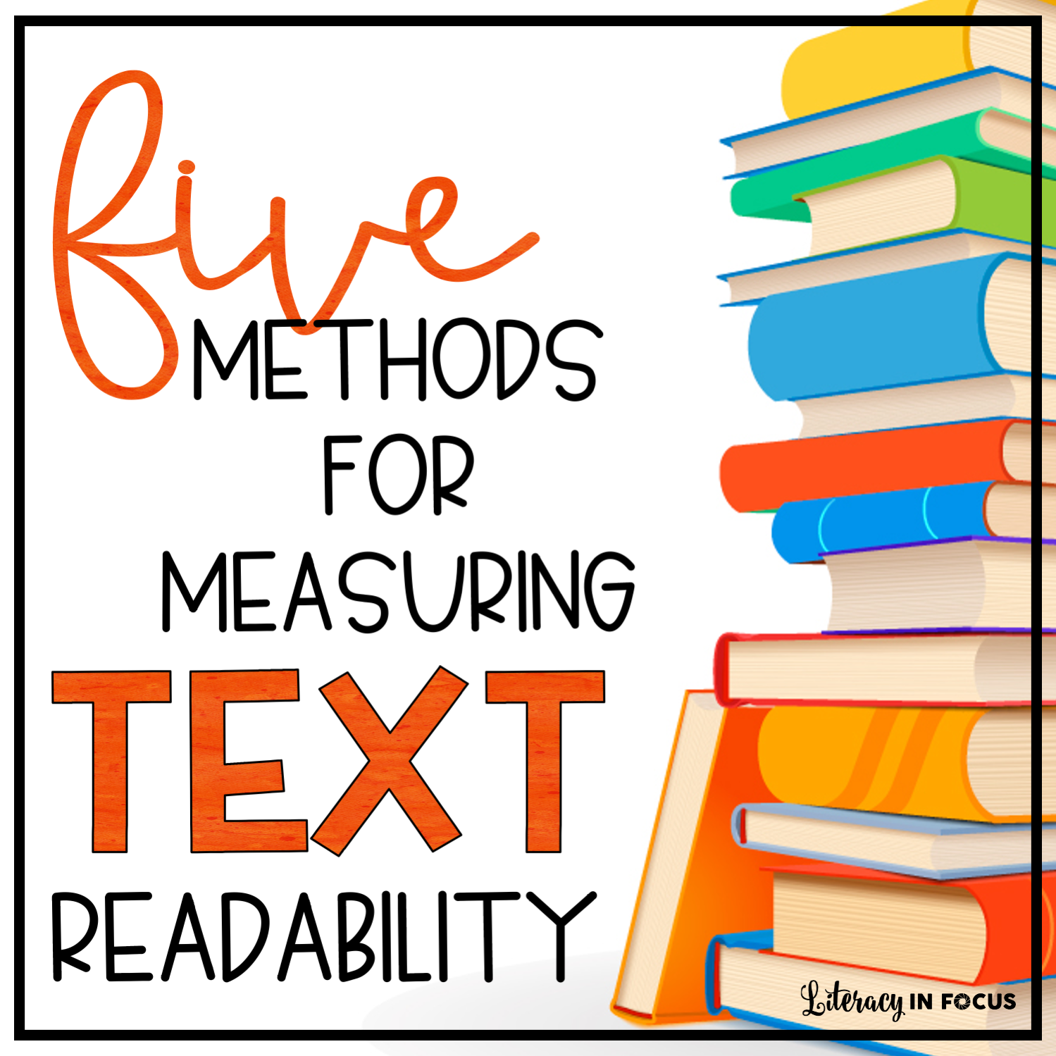 five methods for measuring text readability