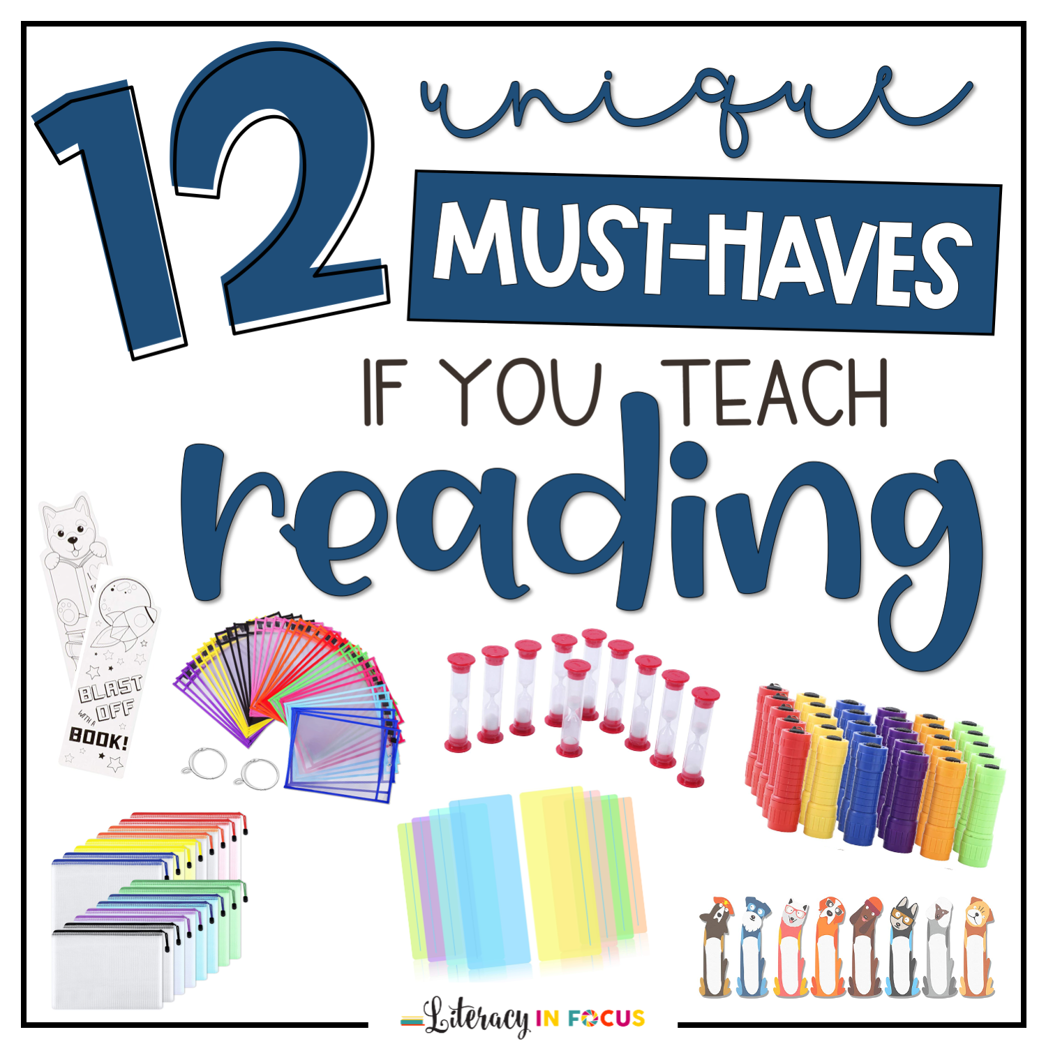Reading Supply List for Teachers