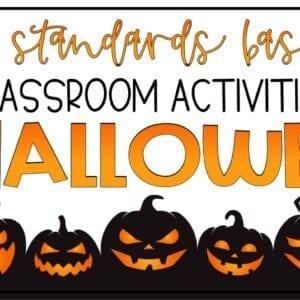 Language Arts Activities for Halloween
