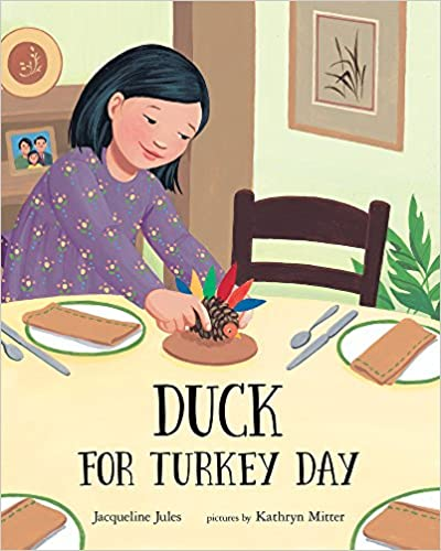 Thanksgiving Picture Book Duck for Turkey Day