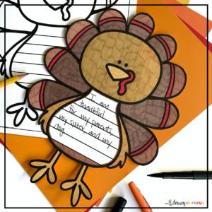 Free Thanksgiving Printable Craft